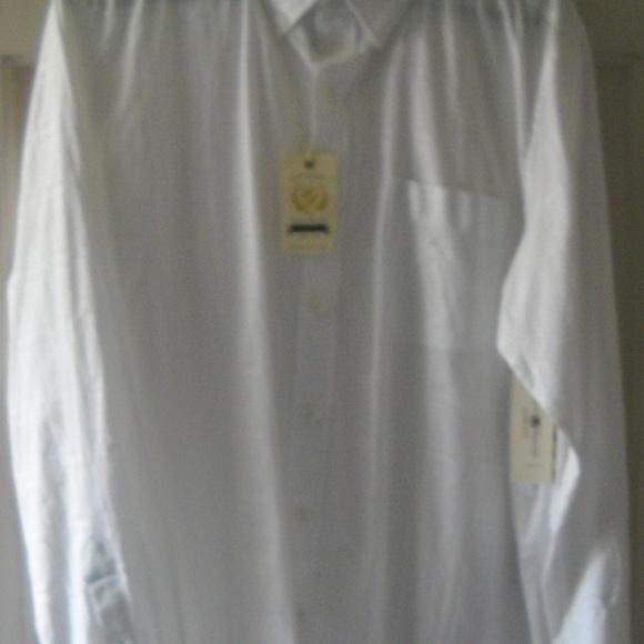 CLUB ROOM Other - MEN'S CLUB ROOM WHITE BUTTON DOWN DRESS SHIRT
